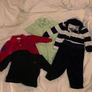 Ralph Lauren 9m boys clothes